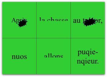 phrase fragments