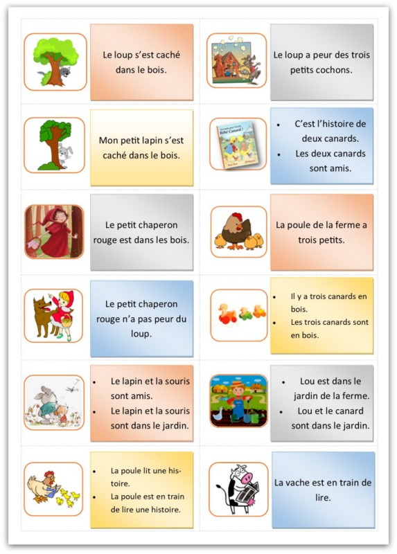 phrases du jeu des phrases