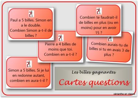 cartes questions