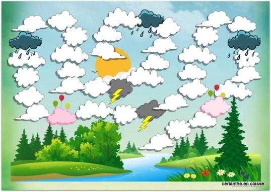 piste aux nuages