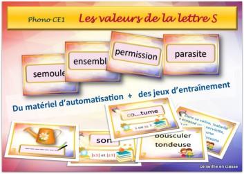 les valeurs de S présentation