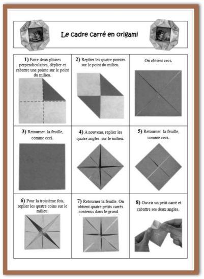 origami cadre fiche technique 1-001