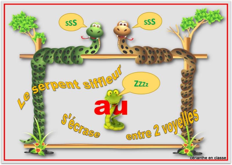 serpent siffleur