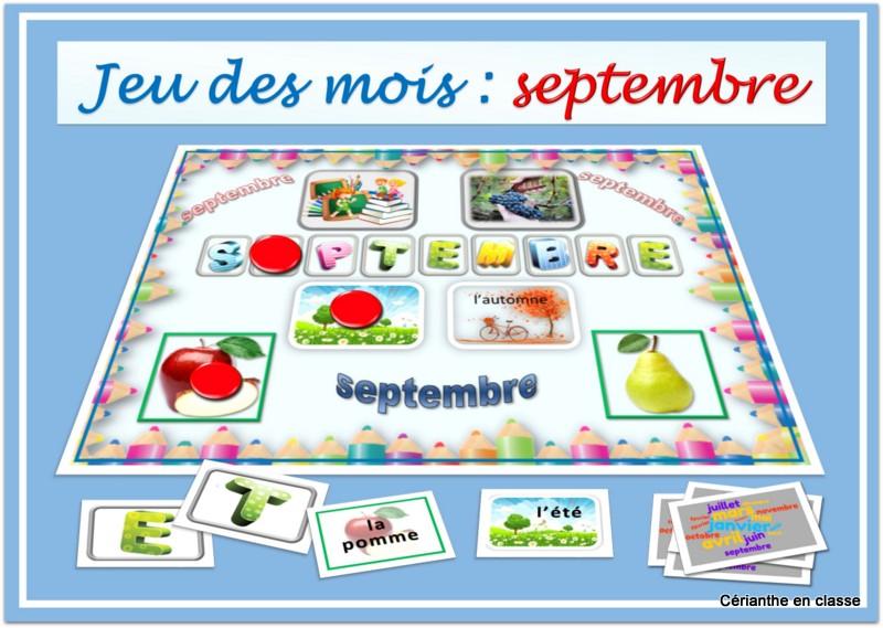 jeu septembre partie