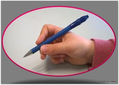tenue du crayon 4