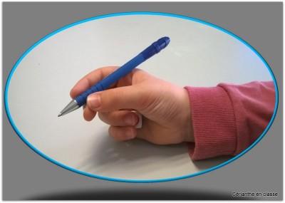 tenue du crayon 6