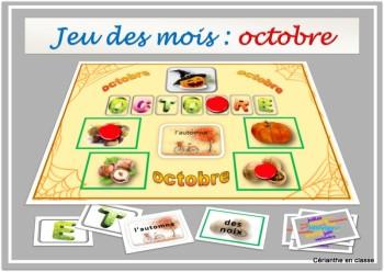 jeu octobre présentation