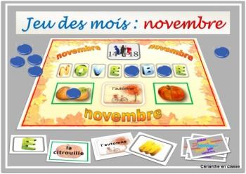 jeu de novembre présentation