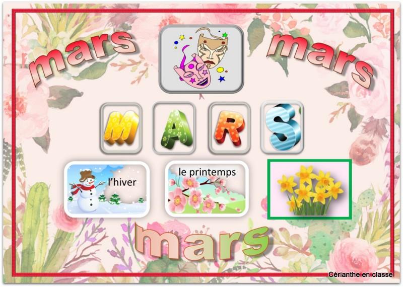 jeu mars