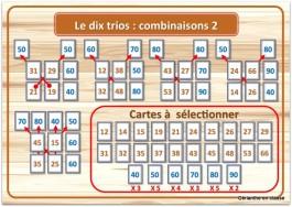 le dix trio combinaisons 2