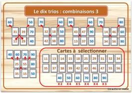 le dix trio combinaisons 3