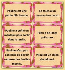 jeu de lecture Pauline et Pilou 3