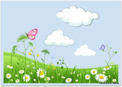 poèmes printemps idées d'illustration 4
