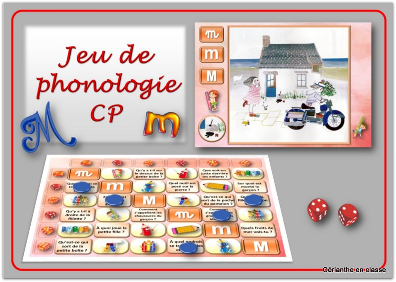 jeu phono M présentation